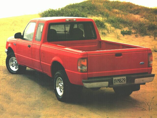 1997 ford ranger weight